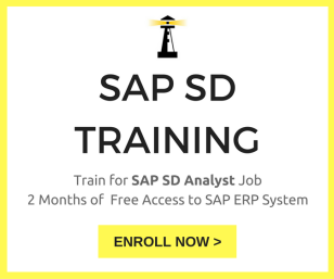 SAP SD Training Ad