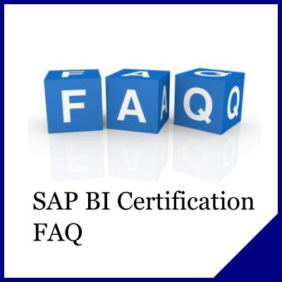 SAP BI Certification FAQ