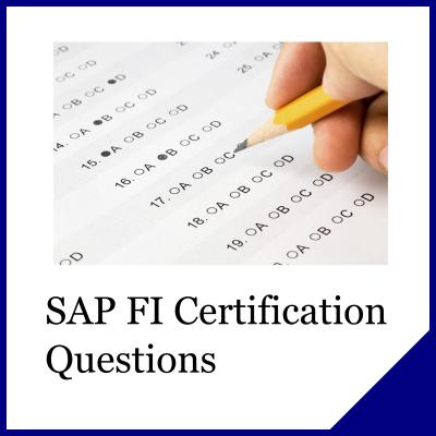 SAP FI Questions