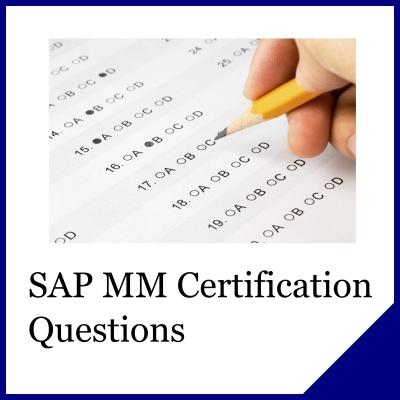 SAP MM Questions