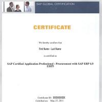 SAP Certification Prerequisites