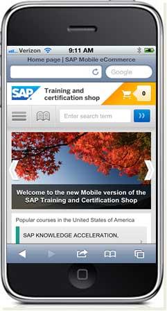 SAP Education Goes Mobile