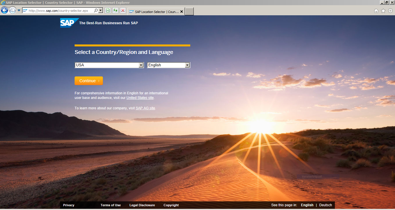 How to Register for SAP Certification :SAP Location Selector