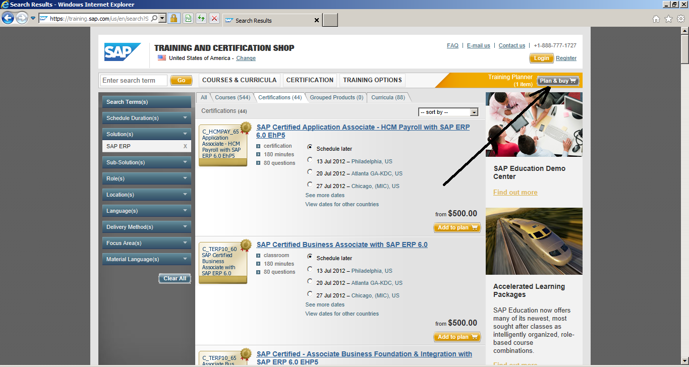 How to Register for SAP Certification: Plan & Buy