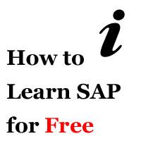 How to Learn SAP for Free