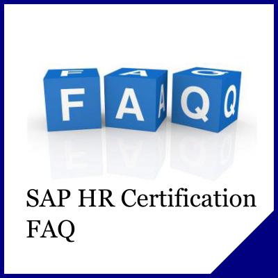 SAP HR Certification FAQ