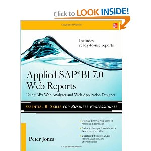 Applied SAP BI 7.0 Web Reports: Using BEx Web Analyzer and Web Application Designer