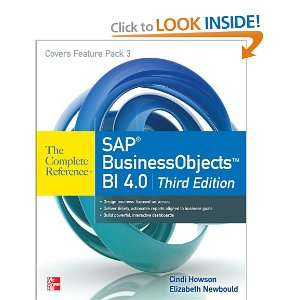SAP BusinessObjects BI 4.0 The Complete Reference