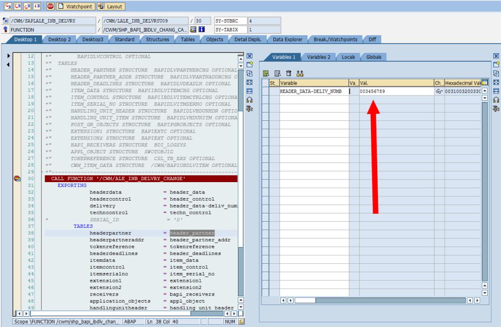 SAP Debugger: Change Simple Variable [Double-Click]