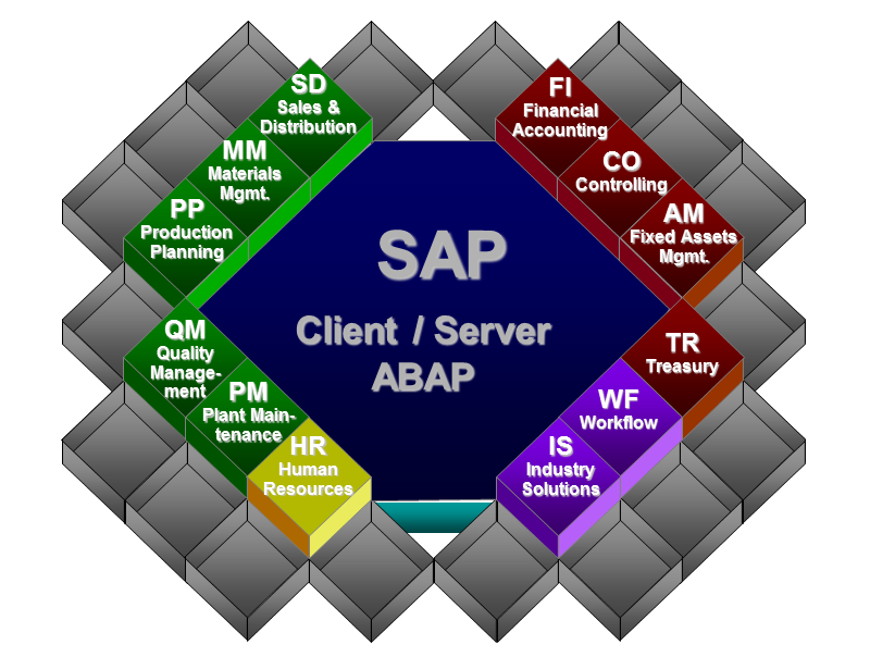 Figure 2 - SAP ERP Application Modules