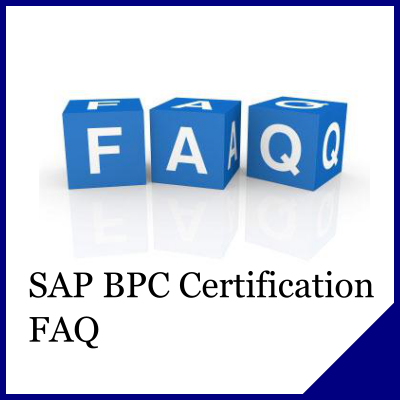SAP BPC Certification FAQ