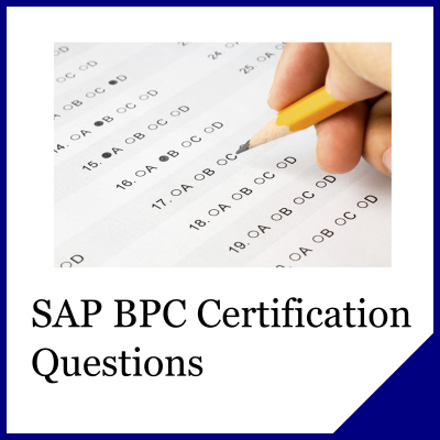 SAP BPC Questions