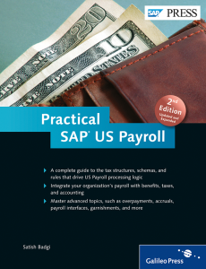 Practical SAP US Payroll