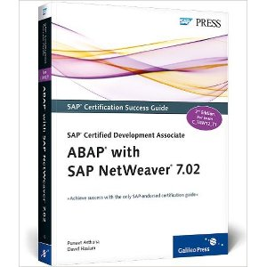 SAP Certified Development Associate - ABAP with SAP NetWeaver 7.02