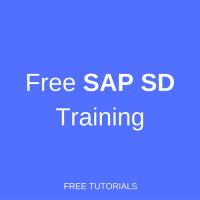 free sap sd training
