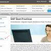 Access SAP Best Practices