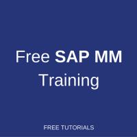 free sap mm training