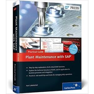 SAP Plant Maintenance (SAP PM) Business User Guide (SAP PRESS) - SAP PM Books