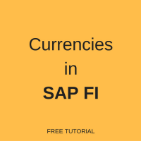 Currencies in SAP