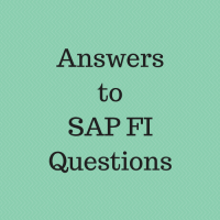 answers to sap fi questions