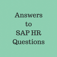 answers to sap hr questions