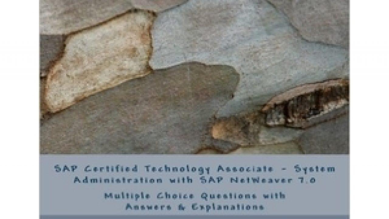 SAP Certified Technology Associate - System Administration