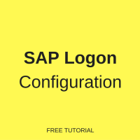 sap logon configuration