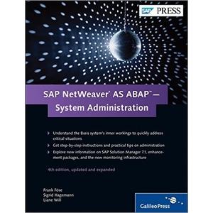 SAP NetWeaver AS ABAP - System Administration, SAP Administration - SAP BASIS Books