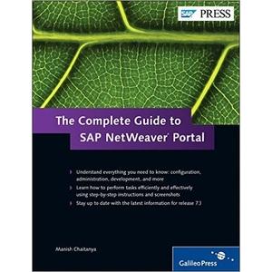 The Complete Guide to SAP NetWeaver Portal - SAP BASIS Books