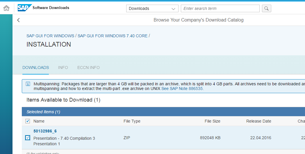 SAP GUI for Windows for Download