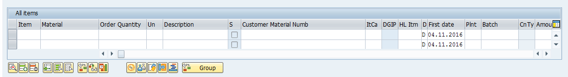 Line Items in SAP Sales Order