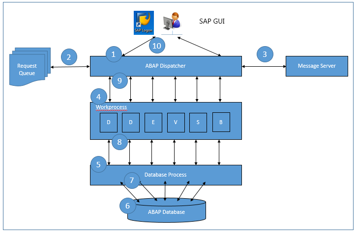 SAP Logon Process Overview
