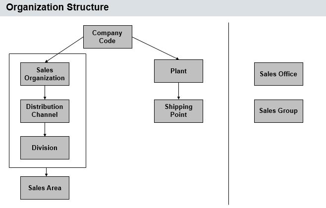 SAP SD Organizational Structure