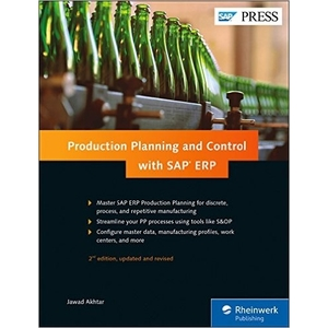 Production-Planning-and-Control-(SAP-PP)-with-SAP-ERP-SAP PP Books