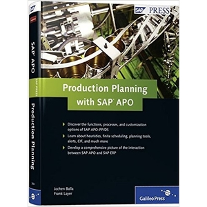 Production Planning with SAP APO - SAP PP Books