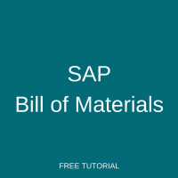 SAP Bill of Materials