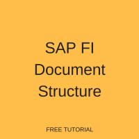 SAP FI Document Structure
