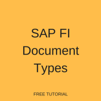 SAP FI Document Types