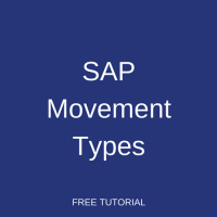 SAP Movement Types