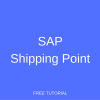 SAP Shipping Point