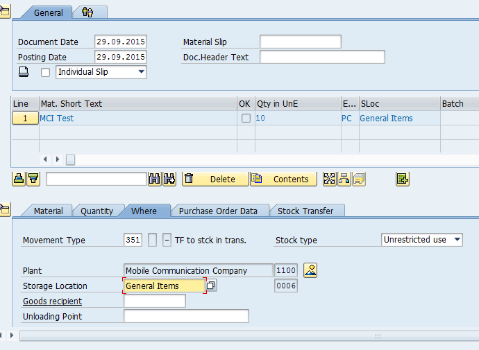 SAP Stock Transport Order and Stock Transfer Process - SAP MM Training