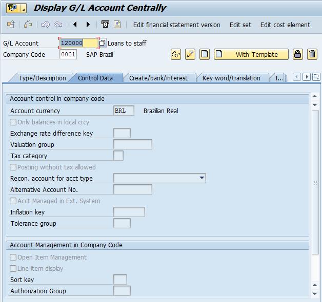SAP Balance Sheet and P&L Statement Accounts - Free SAP FI Training