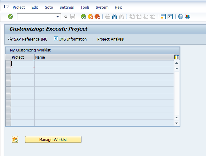 "Press ""SAP Reference IMG"" to Access Customizing for Assignment of Sales Organization - Distribution Channel - Plant"