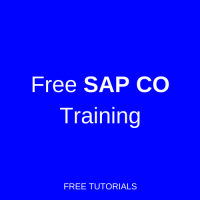 SAP CO Training