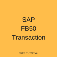 SAP FB50 Transaction Tutorial