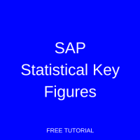 SAP Statistical Key Figures