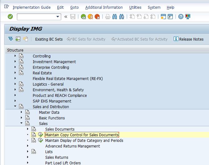 SAP SD Copy Control Tutorial - Free SAP SD Training
