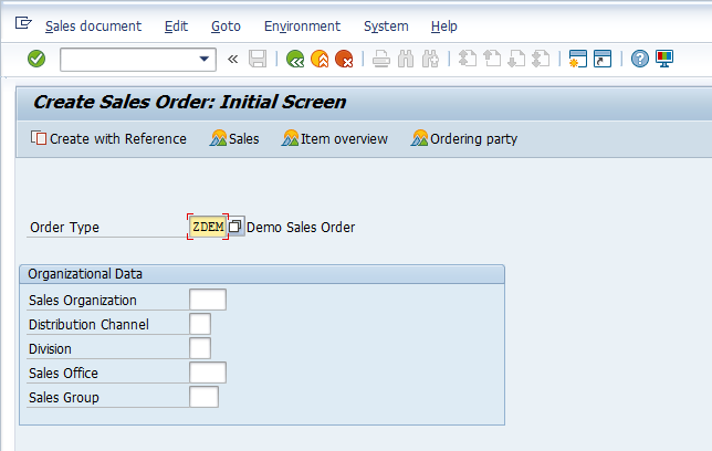 SAP SD Availability Check – Creating Sales Order – VA01