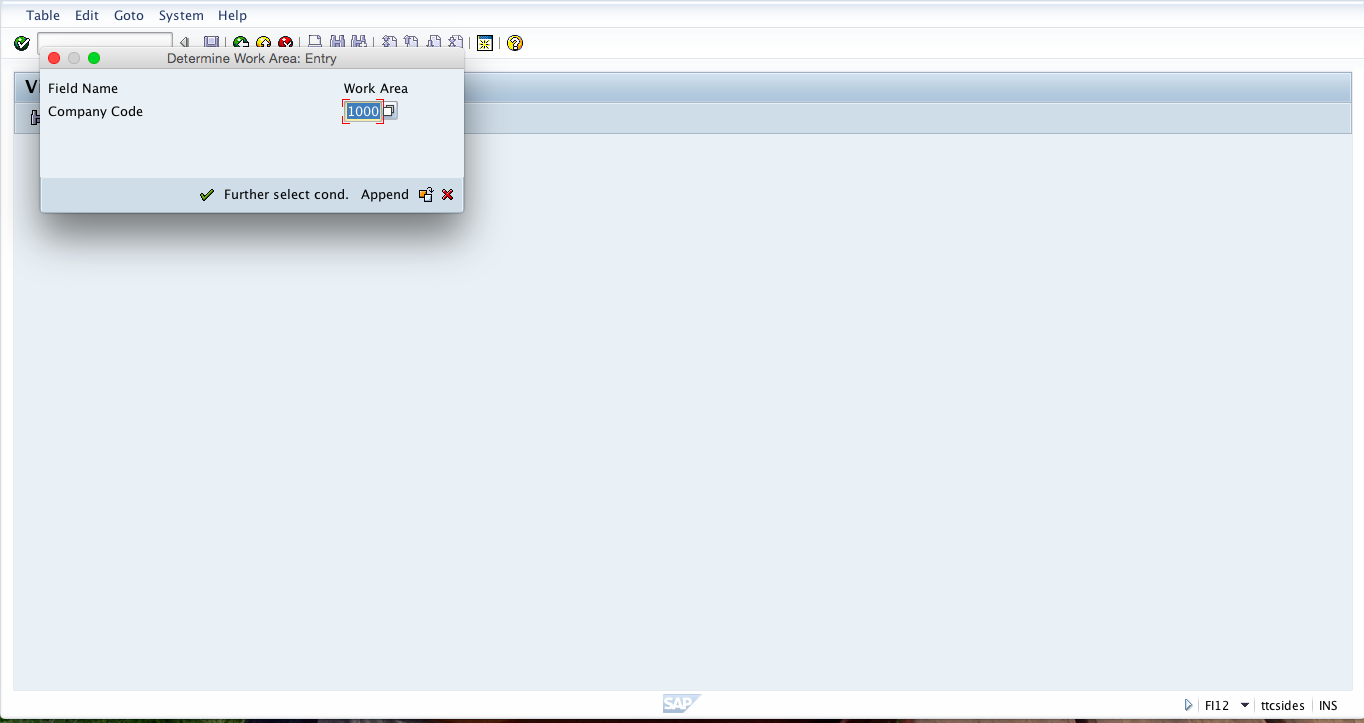 Create SAP House Bank: Initial Screen