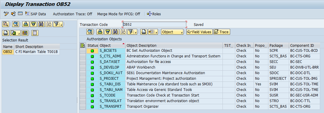 SAP FI Posting Authorization - Free SAP FI Training